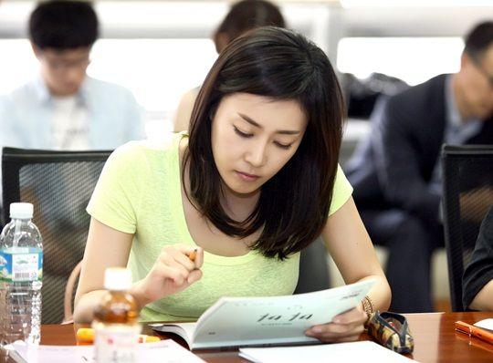 开朗的可爱女人徐智恩