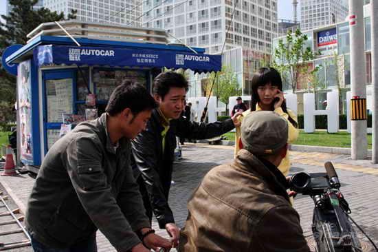 《我的青春谁做主》热拍 赵宝刚展现新北京(图)