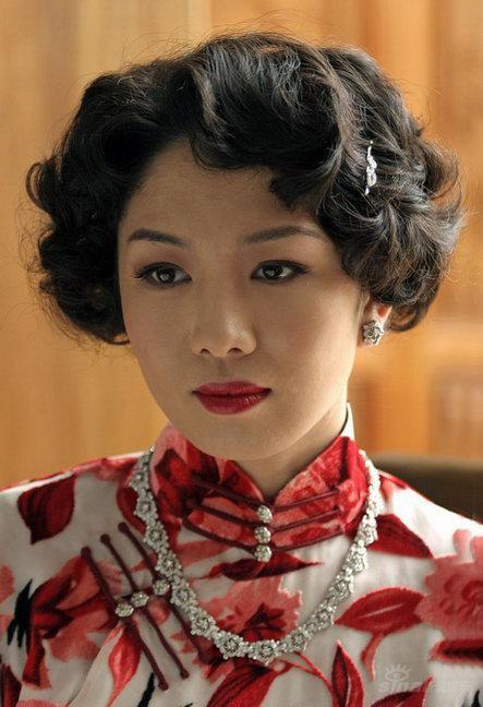 徐菁遥唯美旗袍造型