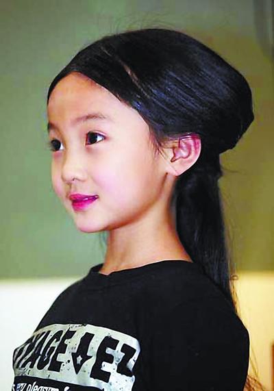 林妙可演幼年黛玉曾因身高不够落选(图)
