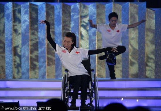 刘岩为台湾同胞首次起舞唱起生命祝福(组图)