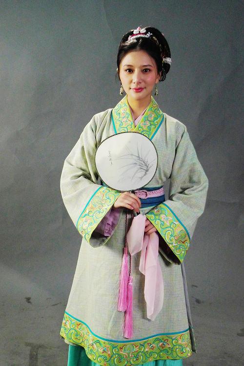 熊乃瑾《水浒》定妆照曝光演绎宋江之妻(图)