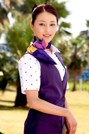 甘婷婷《空姐日记》造型