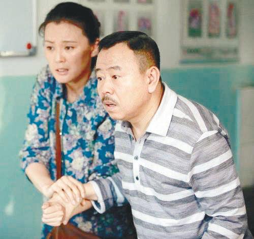 潘长江在剧中饰演农民工冯天贵