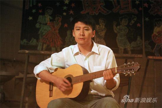 赵峥饰演音乐才子岳剑明