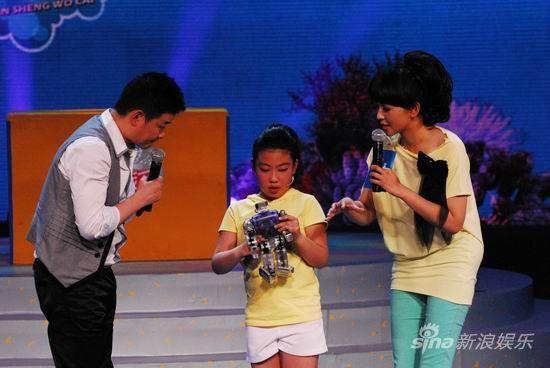 赵姝淇讲述她与机器人背后的故事