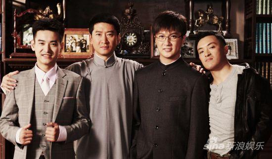周杰、袁文康、迟帅、富大龙(左起)