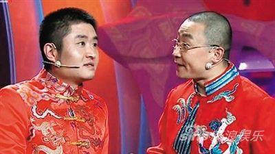 """由苗阜、王声两位年轻相声演员表演的《满腹经纶》被网友称为""""业界良心""""作品。"""