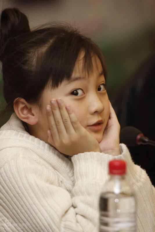 图文:《春草》发布会-林妙可可爱表情