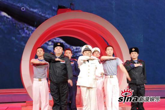 图文:09年央视春节晚会-小品《水下除夕夜》