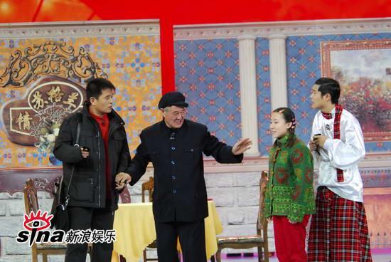 """图文:09年央视春节晚会--赵本山推荐""""孙女"""""""