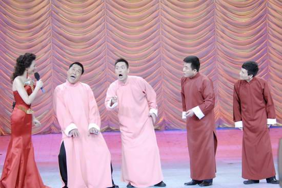 图文:09年央视春节晚会--群口相声《团团圆圆》
