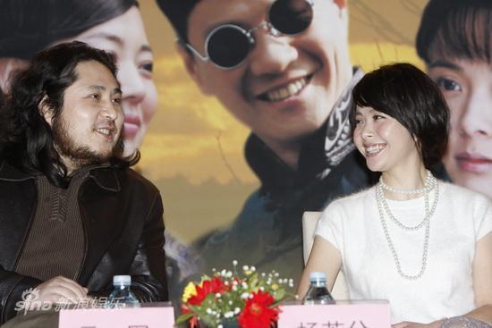 图文:《历史的进程》发布会--制片人和杨若兮
