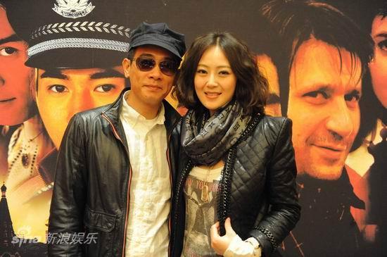 图文:《猎人》首播仪式--陈小春和万妮恩