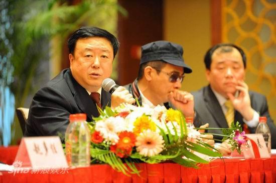图文:《猎人》首播仪式--尤小刚和陈小春
