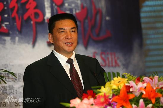 图文:《经纬天地》发布会-总制片马润生致辞