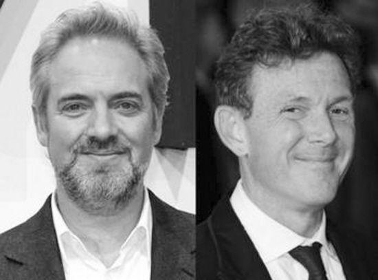 《007:天幕坠落》导演萨姆-门德斯和编剧约翰-罗根