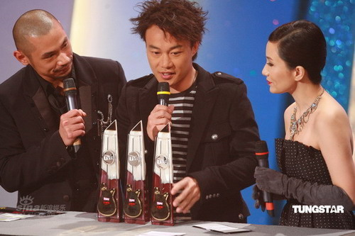 TVB8金曲榜颁奖落幕陈奕迅捧5奖成大赢家(图)