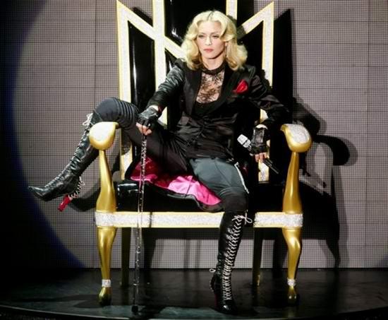 布兰妮为麦当娜个唱录视频有机会再次同台(图)