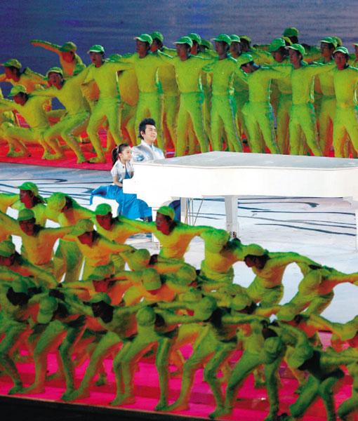 郎朗:北京奥运开幕式是铭记一生的演出(附图)
