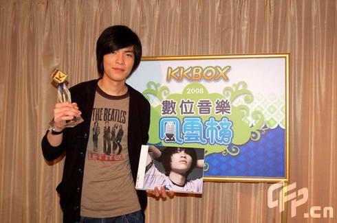 周杰伦称霸KKBOX蔡依林落榜萧敬腾捧两奖(图)