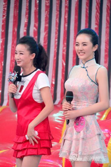 孟茜应邀录制节目展现东方美女独特韵味(图)