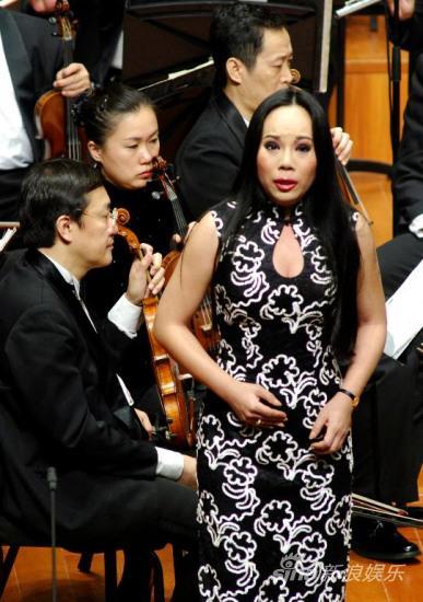 孙秀苇跻身一流女高音将国家大剧院开唱(图)