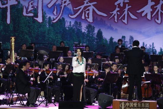 著名歌唱家张健一,廖昌永,毛阿敏和著名歌星王菲菲等参加演出.