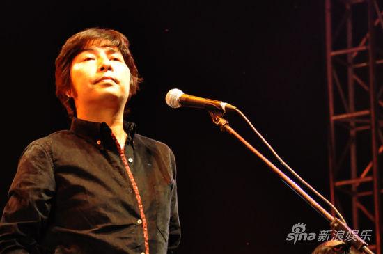 洪启在张北音乐节现场