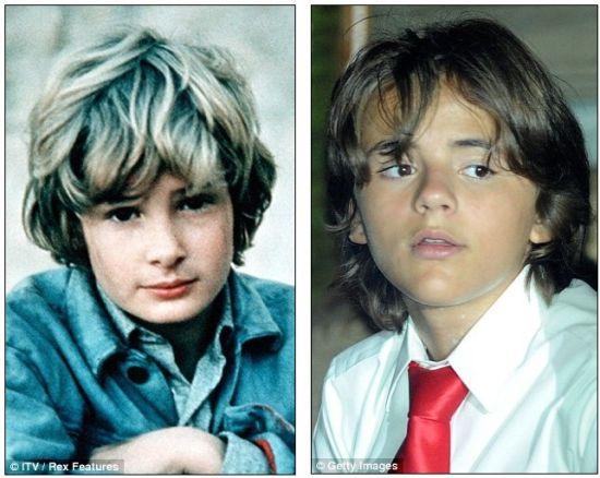 莱斯特童年照与MJ的孩子对比照