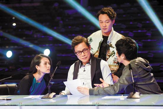 《中国最强音》四位导师