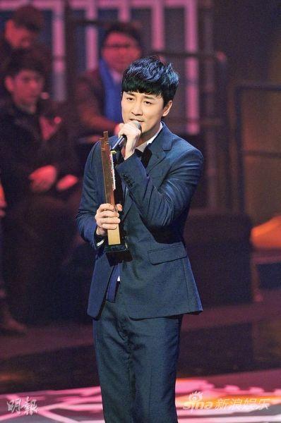 林峰蝉联《最受欢迎男歌星》宝座