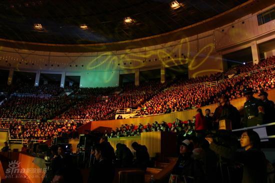图文:蔡琴北京演唱会--演唱会现场