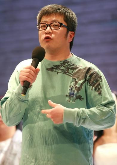 图文:小柯音乐剧二轮首演--小柯上台歌声致谢