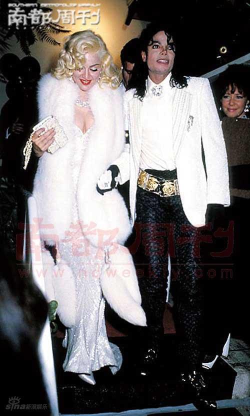 图文:麦当娜遭遇七年之痒--与天王迈克-杰克逊