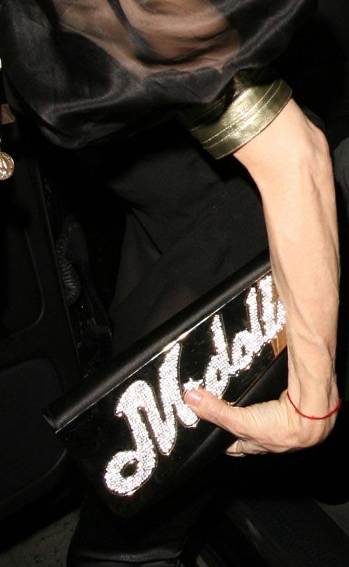 组图:麦当娜50岁庆生派对透视装依旧性感美丽