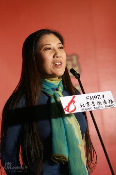 图文:北京人民广播电台副总编辑王秋女士