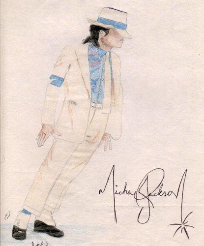 图文:世界各地粉丝笔下的迈克尔-杰克逊