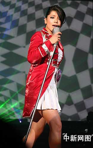 2009快乐女声全国总决赛落幕江映蓉夺冠(组图)