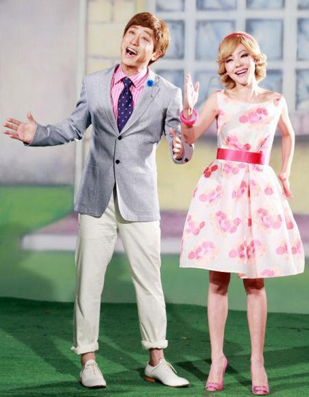 庾澄庆和小S合作新歌《哈你歌》