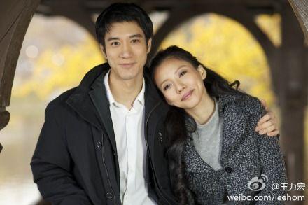 王力宏与新婚妻子