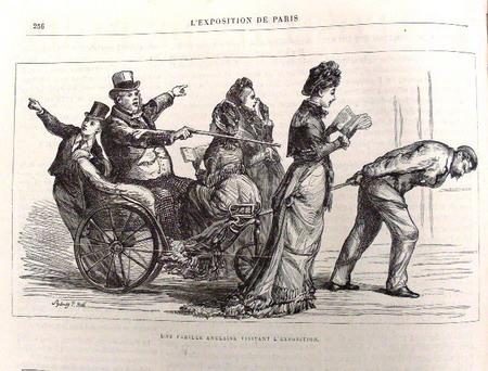 世博会期间的官方画报,描绘了当时的社会状况