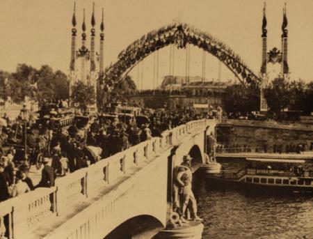 1855年世博会开幕式照片
