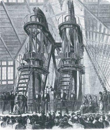 1876年5月10日,费城世博会开幕式。