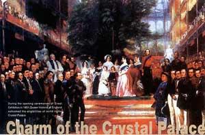 图文:1851年英国伦敦第一届世界博览会