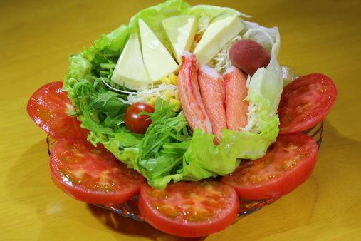 生菜色拉做减肥餐