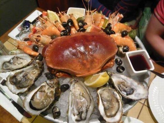 法式海鲜拼盘