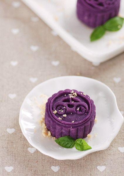 紫薯果仁月�
