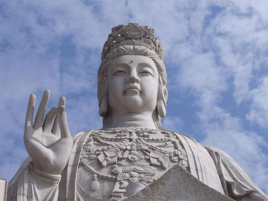 东莞观音山观音菩萨雕像