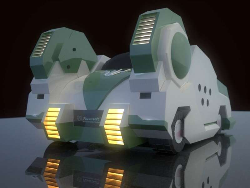 用3DMAX制作的棉花糖CG图片展示_跑跑卡丁